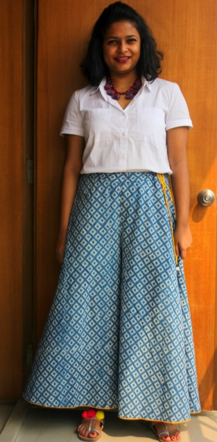 How to wear palazzo pants - Live Laugh Dressup
