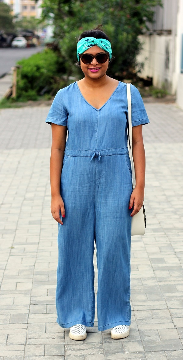 Different ways to wear a jumpsuit