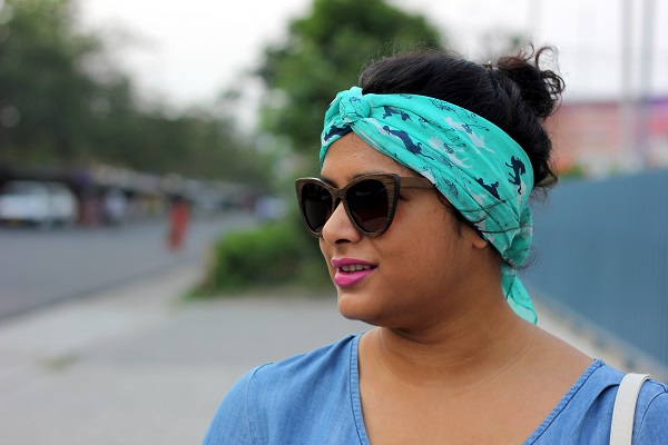 How to tie a head scarf - Live Laugh Dressup