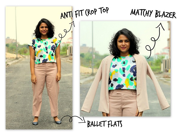 Tuesday Outfit to Work - Pant Suit - How To wear one pair of pants in 4 ways - Live Laugh Dressup