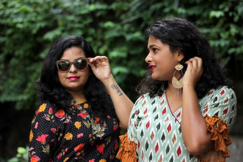What to wear during Durga Puja - Saptami Fashion - Durga Puja Lookbook - Festive Lookbook - Live Laugh Dressup - Indian Fashion Blogger