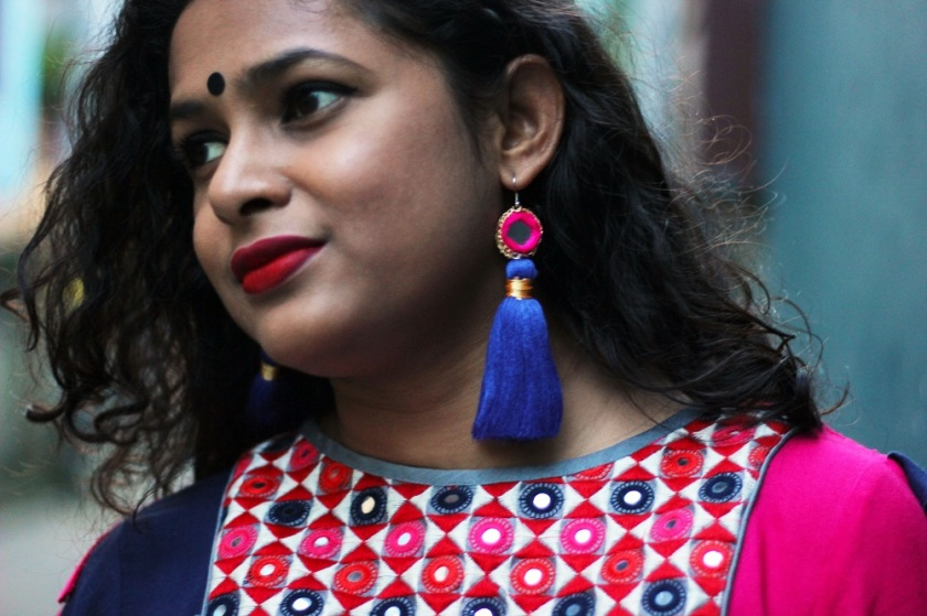 What to wear during Durga Puja - Dashami Fashion - Durga Puja Lookbook - Festive Lookbook - Live Laugh Dressup - Indian Fashion Blogger
