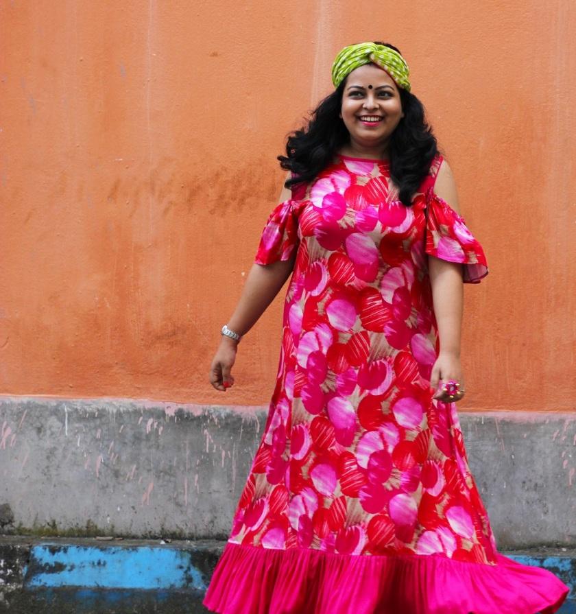 What to wear during Durga Puja - Nabami Fashion - Durga Puja Lookbook - Festive Lookbook - Live Laugh Dressup - Indian Fashion Blogger