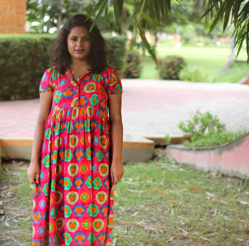 Live Laugh Dressup - Slow Fashion - Sustainable Fashion - Boho Fashion Blogger - Fuschia Pink Maxi Dress - Kolkata Fashion Blogger - Indian Fashion Blogger - Kolkata Street Style